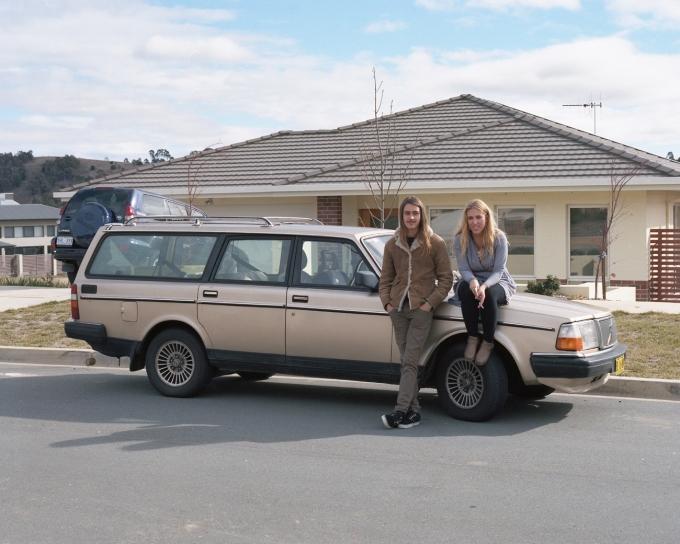 Canberra 2013. Xanthi and Adeline.